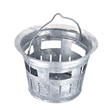 Slit bucket DIN 4052-B1 for road gully buckets
