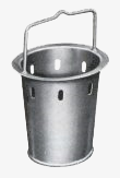 Sand collection bucket for stoneware gully buckets